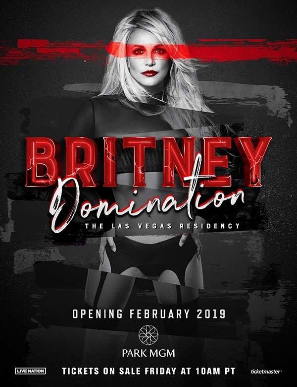 Britney Spears Announces 2019 Las Vegas Residency