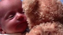 This Baby Meeting His Teddy Bear Will Make Your Monday (WATCH!)