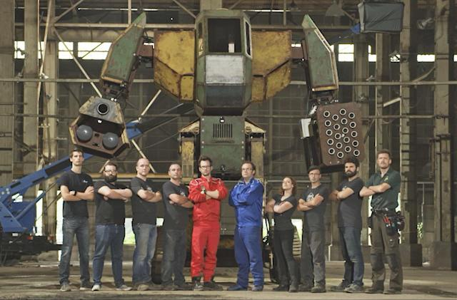 Epic giant robot battle scheduled for October 17th