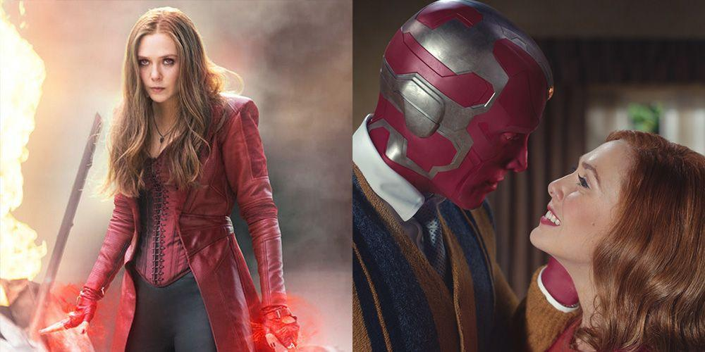 Marvel Fans Probably Don't Know the Heartbreaking Backstory of Wanda and Vision - Yahoo Lifestyle
