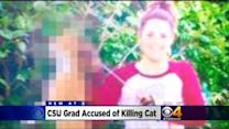 CSU Grad Fired From Vet Clinic For Killing Cat With Bow & Arrow