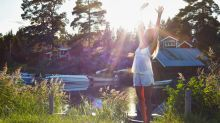 Schön dank Mutter Natur: die Schwedinnen