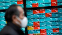 Stocks fall as Bank of Japan warns of 'grave' coronavirus concern