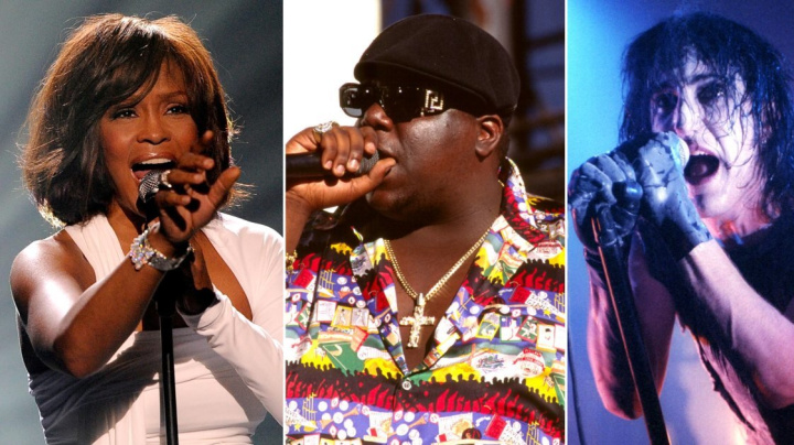 Whitney Houston, Biggie up for Rock Hall