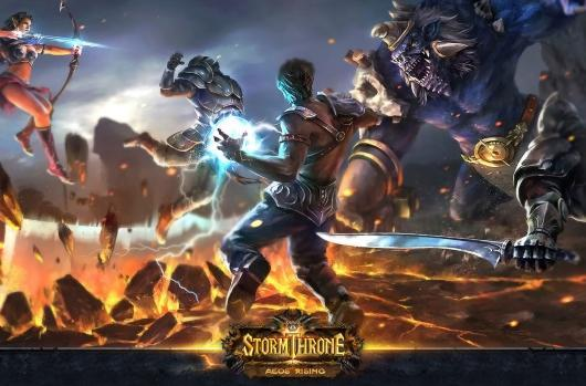 Stormthrone strikes open alpha tomorrow