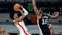 Houston Rockets start life without James Harden with win over San Antonio Spurs