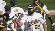 How A's reliever Lou Trivino worked his way back into key role