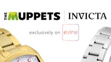 The Muppets Take Over Evine -- Kermit the Frog and Miss Piggy to Debut the Newest Addition of Invicta Watches, December 16 & 17