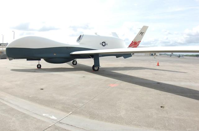 US Navy's MQ-4C Triton drone prepares for deployment in 2018