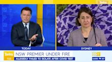 'You Broke The Rules': Karl Stefanovic Grills Gladys Berejiklian Over COVID-19 Test Bust-Up
