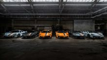 McLaren displays six bespoke 570S models with historic themes