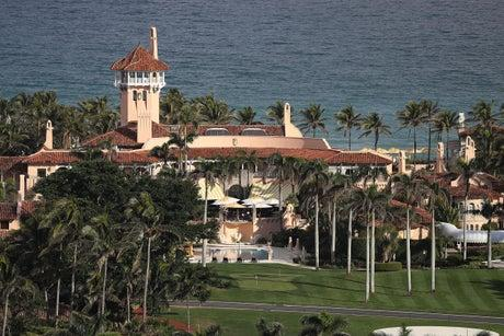 The Trump Plaza near Mar-a-Lago in Florida will be renamed following riots at the US Capitol