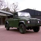 Prince Philip's funeral: a Land Rover and medals