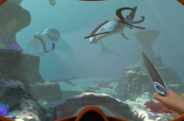Undersea survival game 'Subnautica' hits PS4 this holiday season