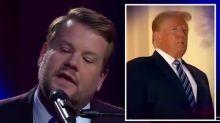 James Corden attacks Donald Trump's coronavirus response with Paul McCartney parody