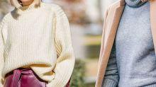 毛衣百搭易襯,還不快點學會配襯毛衣的技巧?