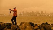 Incendies : les images impressionnantes du ciel orangé de San Francisco