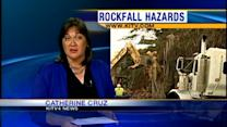 Rockfall study prompts decision to put homeowners on notice