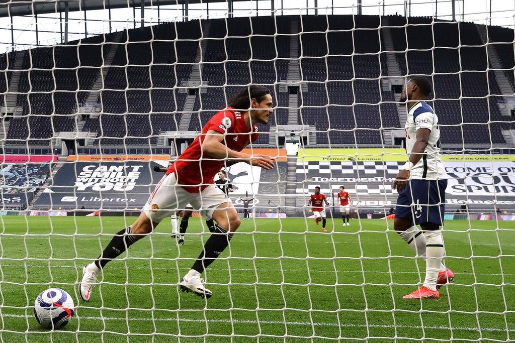 Manchester United player ratings vs Tottenham: Edinson Cavani delivers masterclass in movement