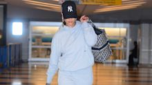 Rihanna Just Proved You Can Pair Sweats and Heels at the Airport