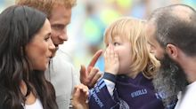 A Kid Touched Meghan Markle's Hair, and He Had an Adorable Reaction When Harry Told Him Off