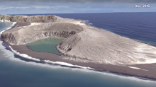 Newly-created volcanic island in Tonga could last as long as 30 years