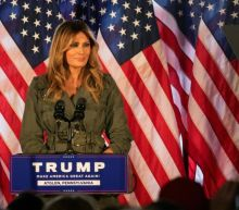 Melania Trump hits the campaign trail, says the president has 'a very big heart'