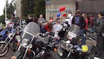 Kern Co. motorcyclists ride to support shooting victim