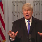 'Saturday Night Live': Alec Baldwin Returns to Declare 'Wall Works' in National Emergency Address (Watch)