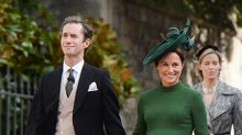 Pippa Middleton and husband James Matthews leave hospital with newborn baby boy