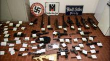Italienische Polizei findet Waffenarsenal bei Rechtsextremen