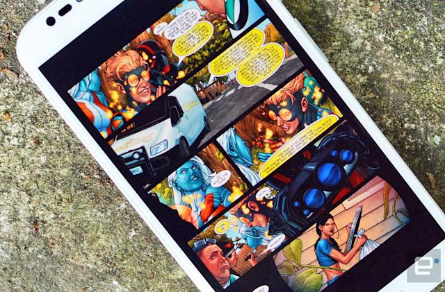 Google Play Books 'Bubble Zoom' makes it easier to read comics