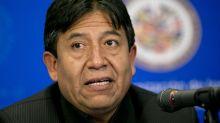 Excanciller indígena candidato del partido de Morales