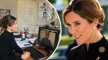 Detail in Princess Mary photo has royal fans talking