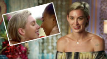 Alex Nation and Brooke Blurton 'kiss' in steamy Bachelor In Paradise promo
