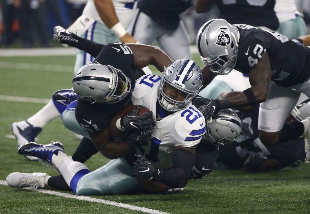 Ezekiel Elliott will be allowed to play in Week 1 against the Giants. (AP)