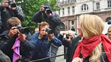Amber Heard's texts following 'Boston plane incident' read out at High Court