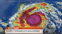Super Typhoon hits Philippines