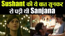 Sanjana Sanghi cries on Sushant Singh Last Conversation with Her at Dil Bechara shoot