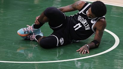 Kyrie ruled out of Game 5 with ankle injury