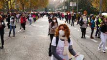 Spain's health workers protest against health service cuts