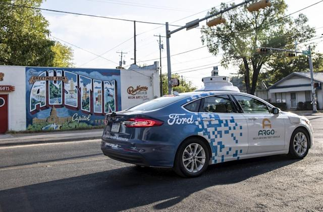 Ford is bringing its self-driving cars to Austin, Texas