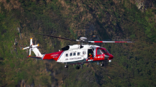 Baby born on board Coastguard helicopter flying over Cornwall at 1,400 feet