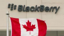 BlackBerry shares down after another top exec leaves