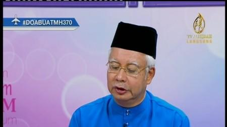 #prayforMH730 : NAJIB CALLS FOR PATIENCE AMID ALL-OUT SEARCH FOR MISSING PLANE