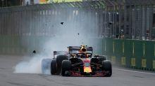 Azerbaijan Grand Prix: Red Bulls go bonkers as F1 chaos helps Hamilton to an unlikely win