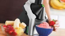 Endulza tu hogar con esta máquina para hacer helados por 45 dólares