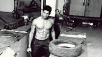 Video: Siddharth Malhotra skips gym and grabs a rope to stay fit