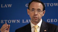 Deputy AG Rosenstein calls on Big Tech to protect users