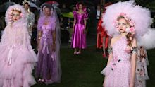 Rodarte staged a stunning New York Fashion Week return in the rain